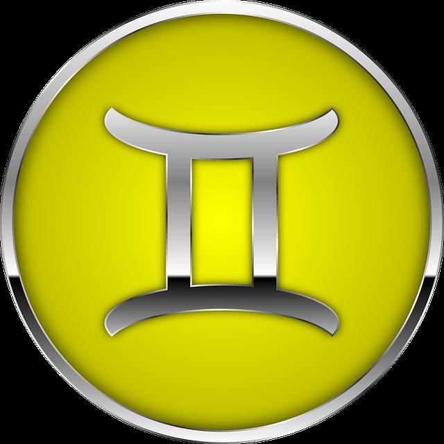 Astrologisches Zeichen für Zwilling